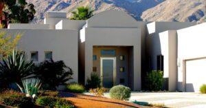 Home in desert